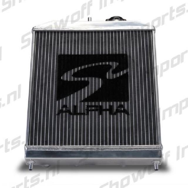 Honda Civic/Delsol 92-00 Alpha Serie Alu Radiator Skunk2