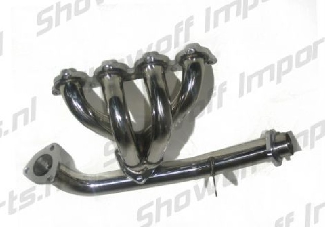 Honda Civic/CRX/Sol 88-00 D-Series 4-1 Stainless Header