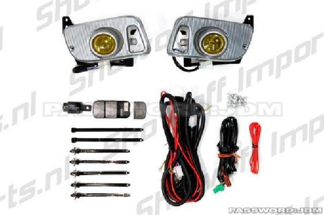 Honda Civic 92-95 EG Amber Foglights Kit PWJDM