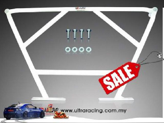 Honda Jazz/Fit 01-08 UltraRacing 4-Point Rear Lower Brace