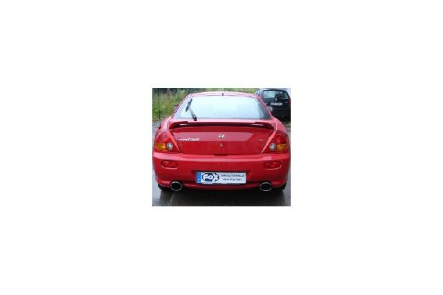 Hyundai Coupe Typ GK - 2,7l V6 Endschalldämpfer rechts/links - 129x106 Typ 32 rechts/links