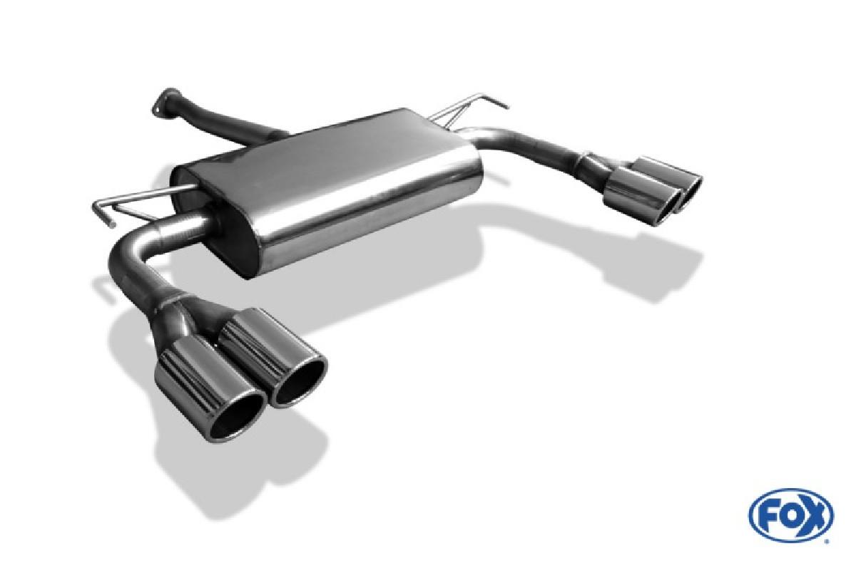 Hyundai ix35 Endschalldämpfer Ausgang rechts/links - 2x80