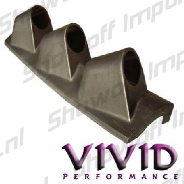 Honda Civic/CRX 88-91 Vivid A-Pillar Triple Gauge Pod Addon
