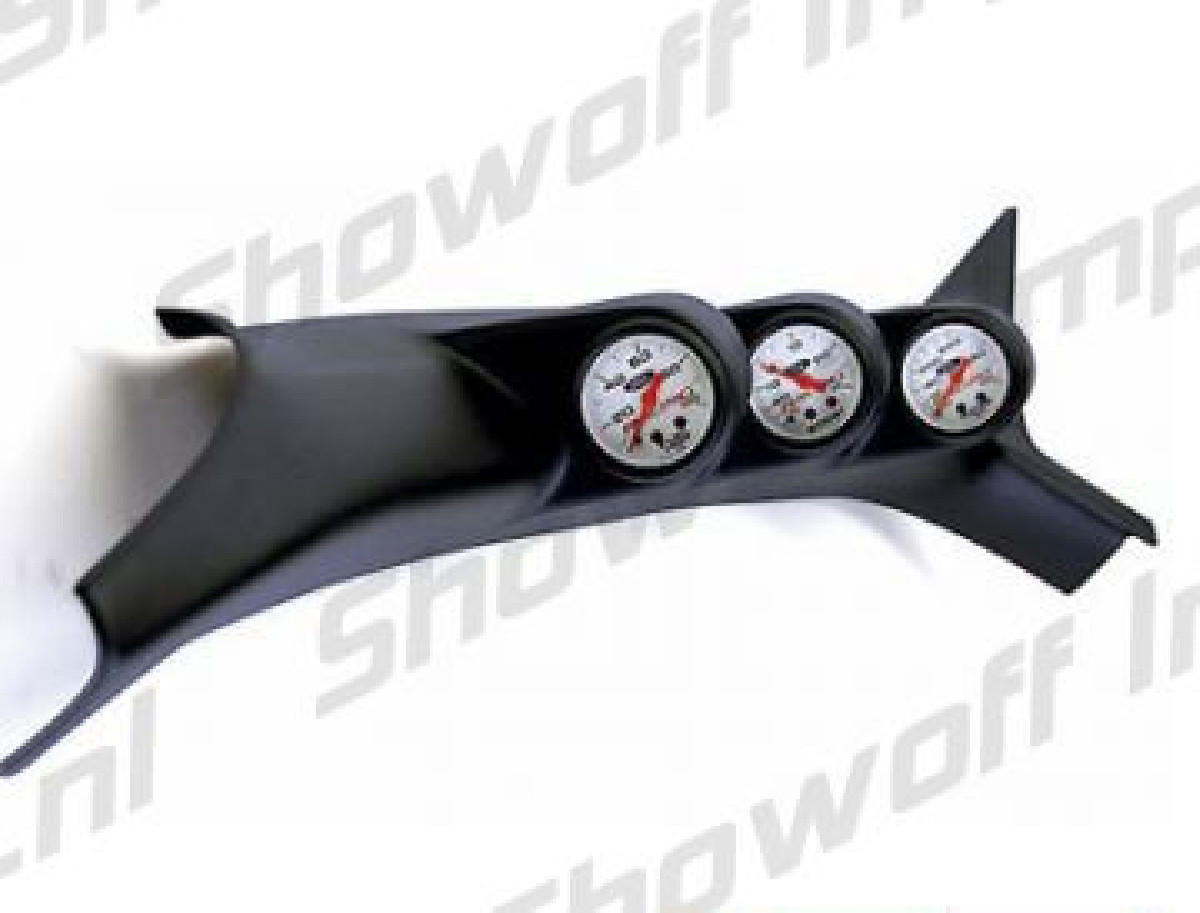 Lancer EVO VIII 02+ Vivid A-Pillar Triple Gauge Pod 60mm