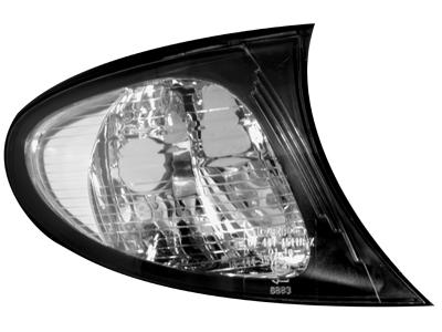 Frontblinker BMW 3er E46 4D Lim. + Touring 02-05 facelift black