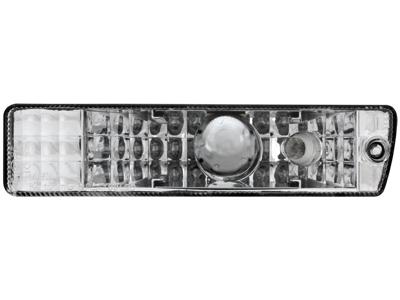 Frontblinker Golf II GL / Jetta mit Standlicht chrome