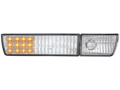 LED Frontblinker VW Golf III/Vento NSW-Dummy chrome