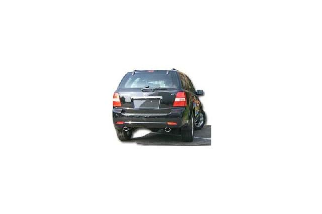 FOX Kia Sorento Typ JC Facelift  Endrohrgeweih Ausgang rechts/links - 115x85 Typ 33 rechts/links