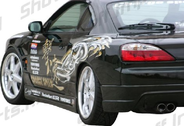 Nissan S15 Chargespeed Rear Wide Fenders 50mm