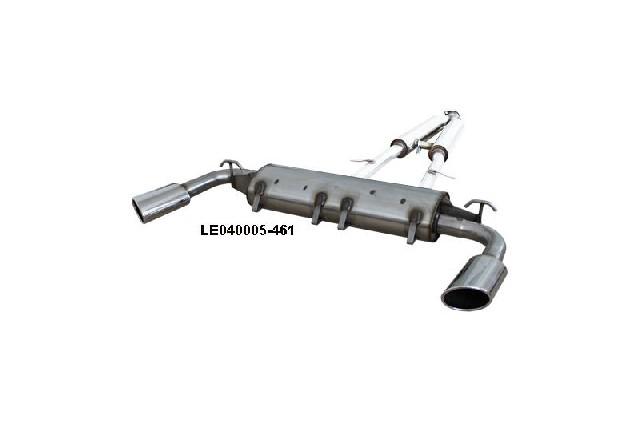 FOX Lexus SC430  Endschalldämpfer quer Ausgang rechts/links - 115x85 Typ 38 rechts/links