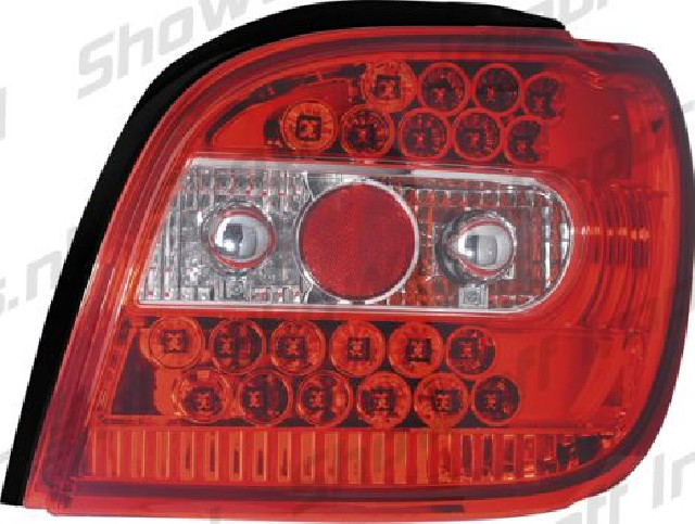 Toyota Yaris -02 Red/Clear LED Taillights