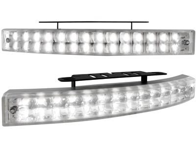 Tagfahrlicht mit 28 LED LxHxT 200x24x42mm (2 Stück)