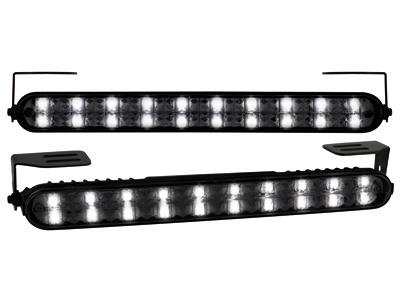 Tagfahrlicht mit 20 LED LxHxT 220x24x35mm (2 Stück) black
