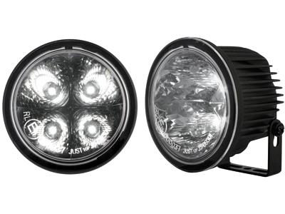 Tagfahrlicht rund 4 hipower LED Ø90 / 71mm (T) (2 Stück)