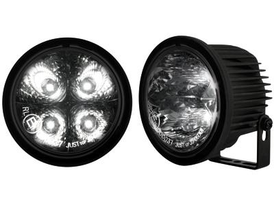 Tagfahrlicht rund 4 hipower LED Ø90 / 71mm (T) (2 Stück) bl