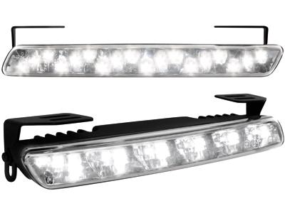 Tagfahrlicht mit 18 LED LxHxT 200x23x40 mm (2 Stück)