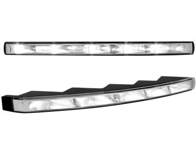 Tagfahrlicht mit 5 hipower LED 290x20mm(2 Stück) Aluminium