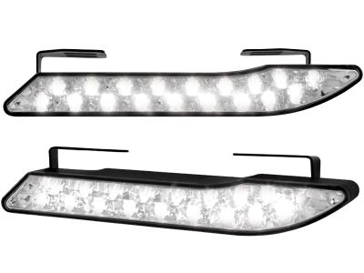 Tagfahrlicht Curve Design mit 18 Super Flux Piranha LEDs