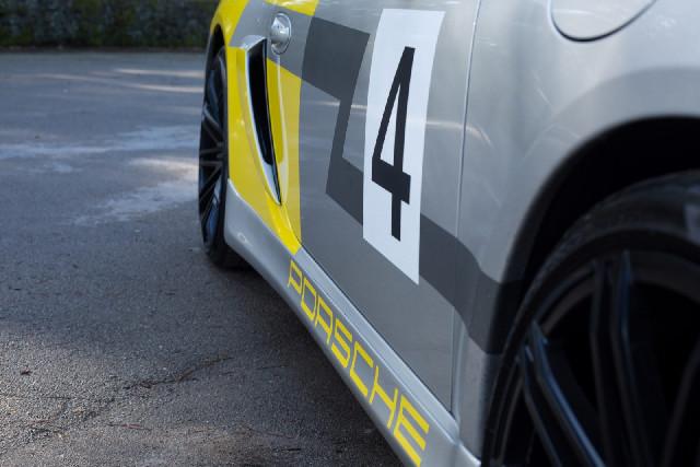Porsche Cayman 987, 981 Lufteinlässe Kotflügel hinten  Baujahr 06-16