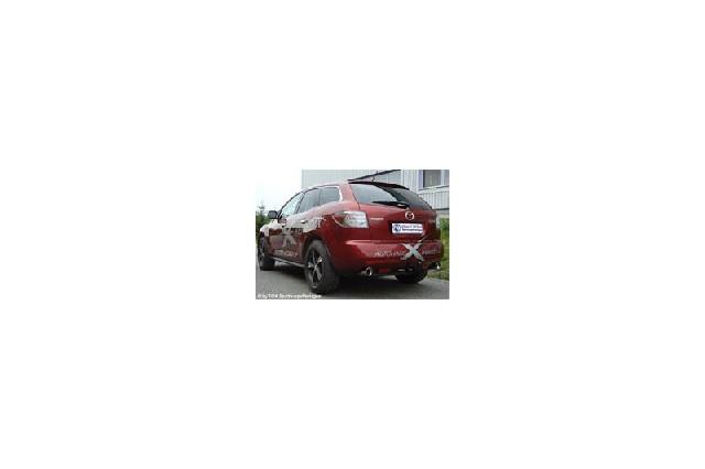 FOX Mazda CX7  Endschalldämpfer quer Ausgang rechts/links - 1x100 Typ 17 rechts/links