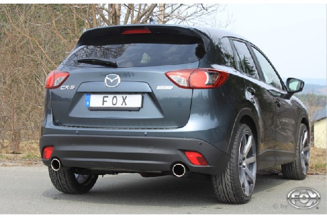 Mazda CX5 Diesel 4x4 - KE Endschalldämpfer quer rechts/links - 1x100  rechts/links