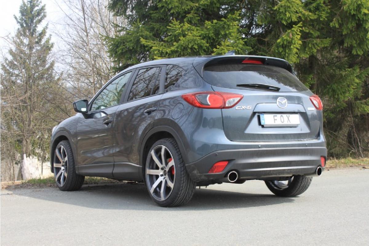 Mazda CX5 Benzin - KE Endschalldämpfer quer rechts/links - 1x100  rechts/links