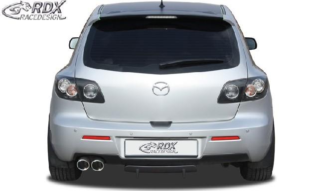 Heckdiffusor U-Diff Mazda 3 2006-2009 Diffusor Heck Ansatz