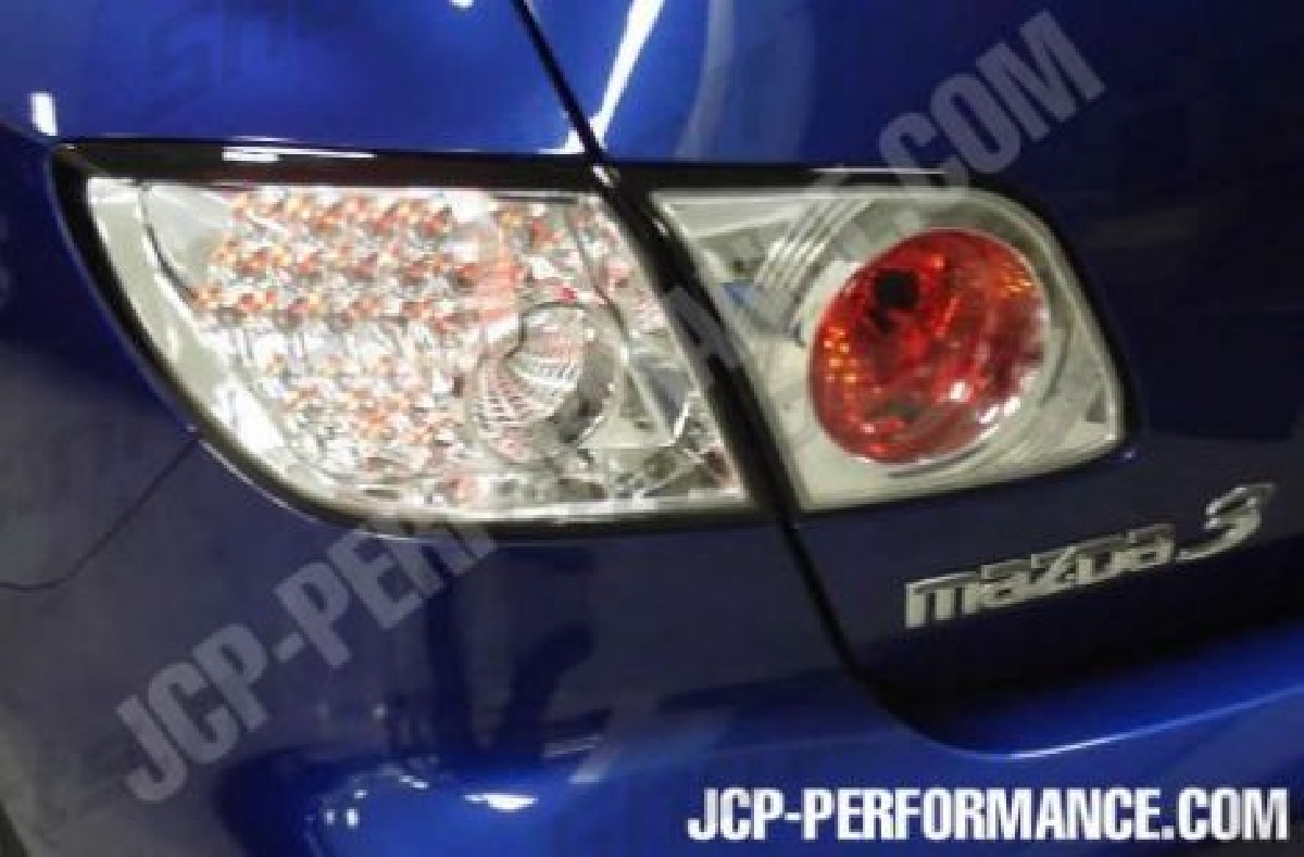 Mazda Mazda 3 LXS-Taillights LED Chrome