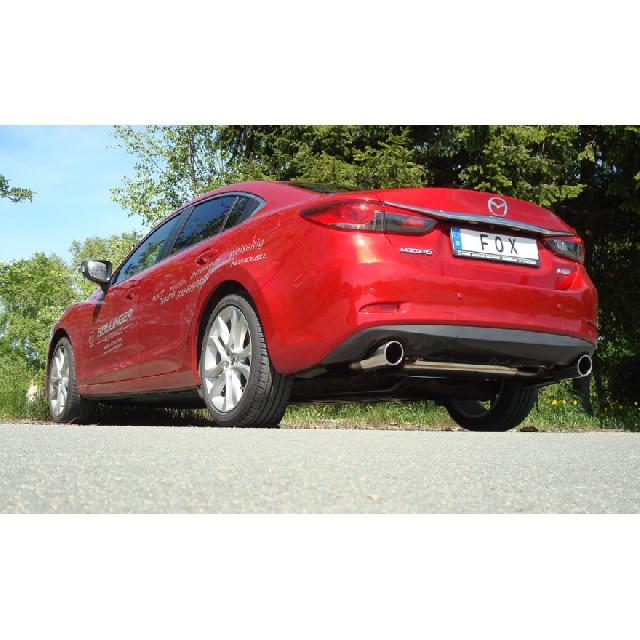 Mazda 6 - GJ Limousine/ Kombi Frontantrieb & Allrad Endschalldämpfer quer Ausgang rechts/links - 1x100