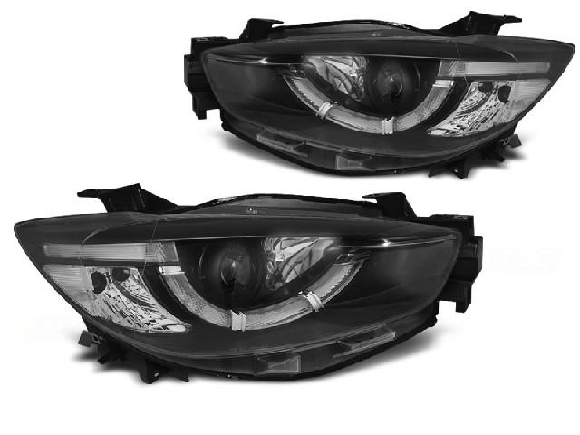 MAZDA CX5 11-15 BLACK TRUE DRL XENON Scheinwerfer