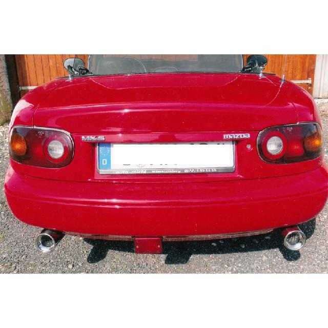 Mazda MX5 Typ NA Endschalldämpfer Ausgang rechts/links - 1x90