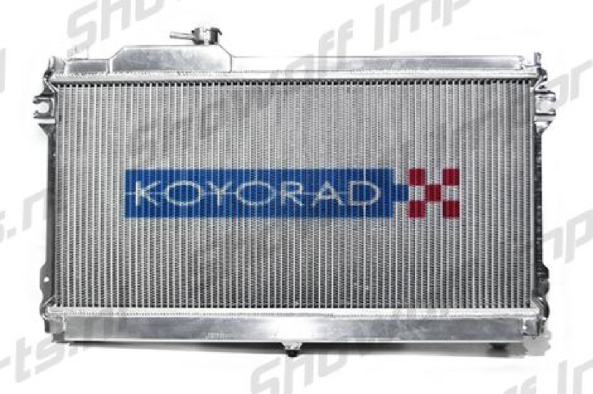 Mazda MX5 NB 99-05 1.8 MT Koyo Alu Radiator 53mm