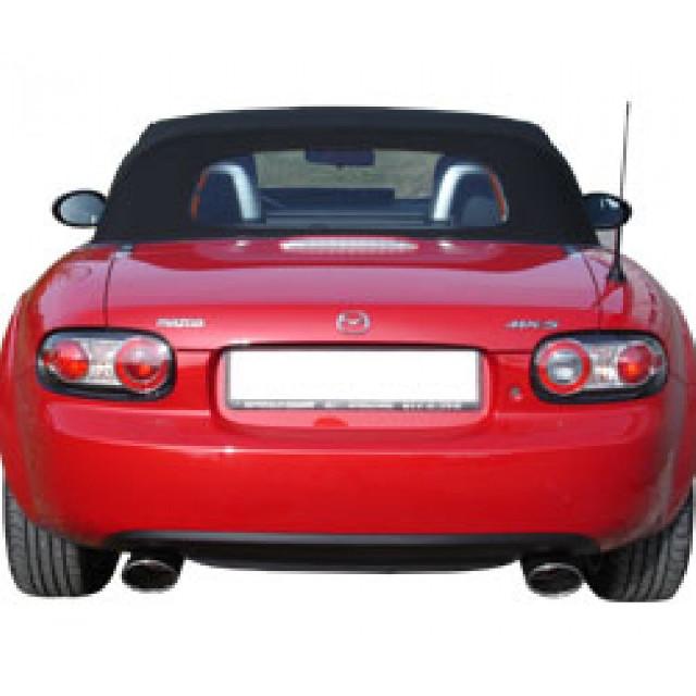 Mazda MX5 Typ NC Endschalldämpfer Ausgang rechts/links - 115x85