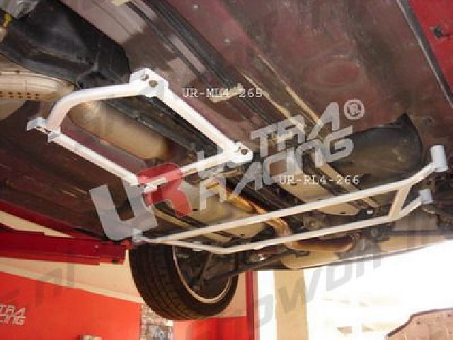 Mazda RX8 UltraRacing 4-Point Mid Lower Strutbar/Brace