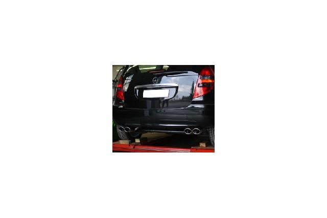 FOX Mercedes A-Klasse W169  Endschalldämpfer Ausgang rechts/links - 2x106x71 Typ 32 rechts/links