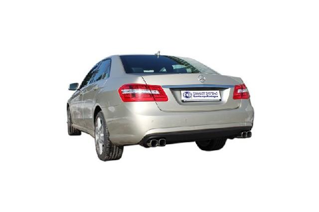 FOX Mercedes E-Klasse W212  Endschalldämpfer rechts/links - 2x78x75 Typ 71 rechts/links