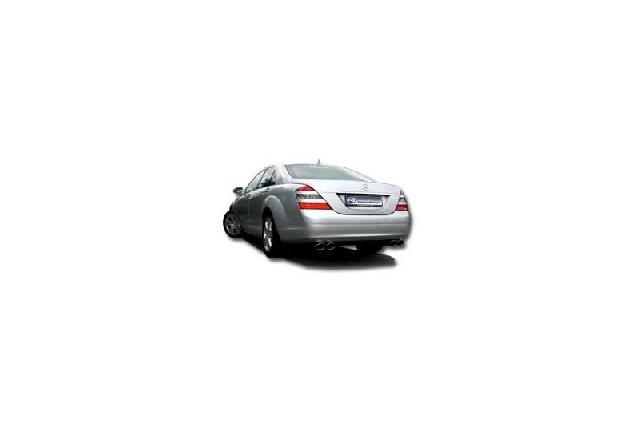 FOX Mercedes S-Klasse S221/W221  Endschalldämpfer rechts/links  - 2x115x85 Typ 32 rechts/links