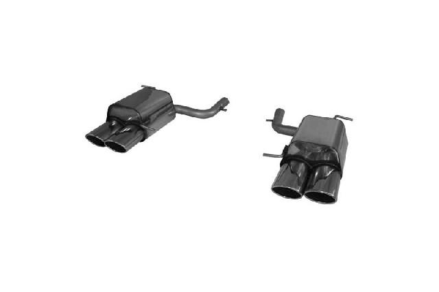 FOX Mercedes SLK Typ 171 - 4 Zylinder  Endschalldämpfer rechs/links - 2x115x85 Typ 32 rechts/links
