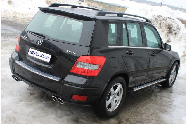 FOX Mercedes GLK X204  Endschalldämpfer rechts/links - 2x106x71 Typ 32 rechts/links