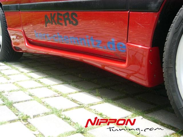 Seitenschwellersatz  Mitsubishi Eclipse D20 D22A sideskirts