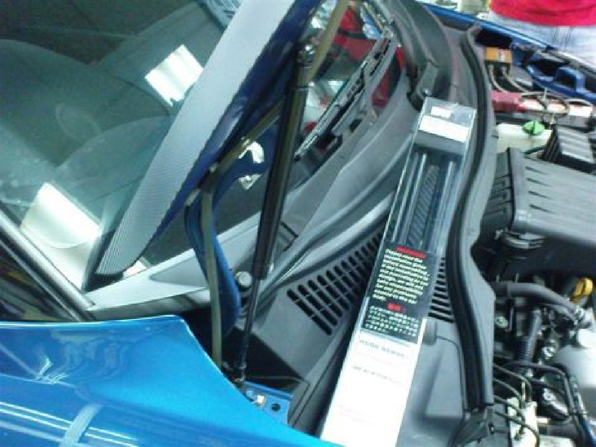 Suzuki Swift 05+ Bolt-on Hood Dampers/Shocks