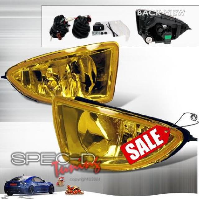 Honda Civic 04-05 2D Coupe Oem Foglights JDM Yellow
