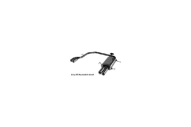 FOX Nissan Primera P11 - 4/5trg. Limousine  Endschalldämpfer Ausgang rechts/links - 2x90 Typ 13 rechts/links
