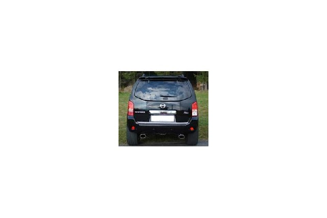 FOX Nissan Pathfinder R51  Endrohre rechts/links - 140x90 Typ 32 rechts/links