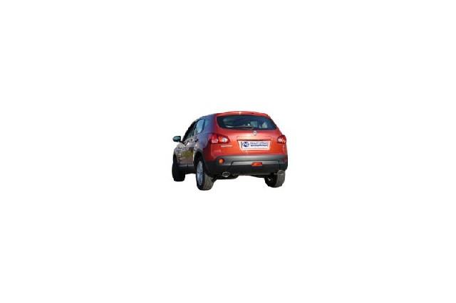 FOX Nissan Qashqai Benzin  Endschalldämpfer quer Ausgang rechts/links - 115x85 Typ 33 rechts/links