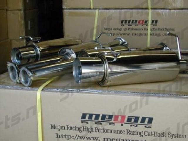Nissan 300ZX 90-96 Coupe 2Seats Megan Racing Turbo Catback System
