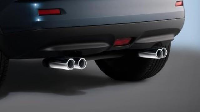 Sport-Doppelrohr-Endschalldämpfer Edelstahl für Nissan Juke 4 WD