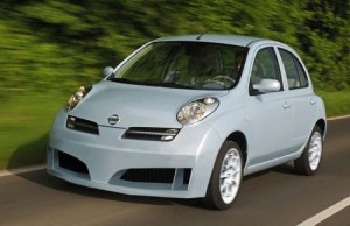 Nissan Micra K12 EDS Frontstossstange