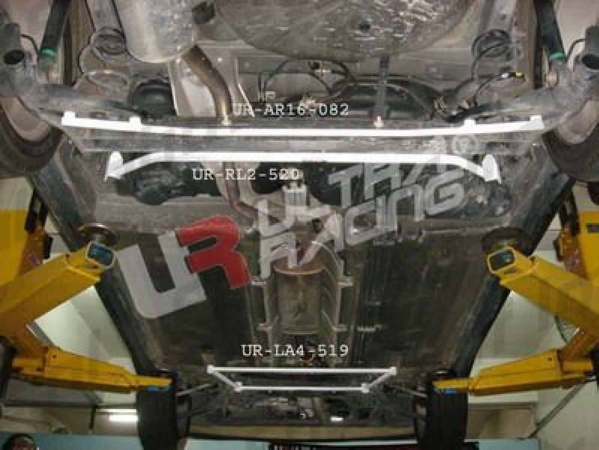 Nissan Micra K12 02-07 UltraRacing 2-Point Rear Lower Tiebar