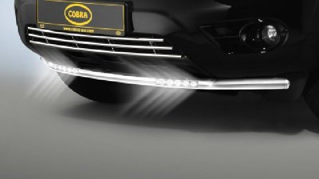 Cityguard mit LED Tagfahrlicht  60 mm für Nissan Murano